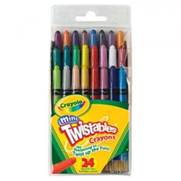 크레욜라 24색미니트위스트색연필(GT529724)