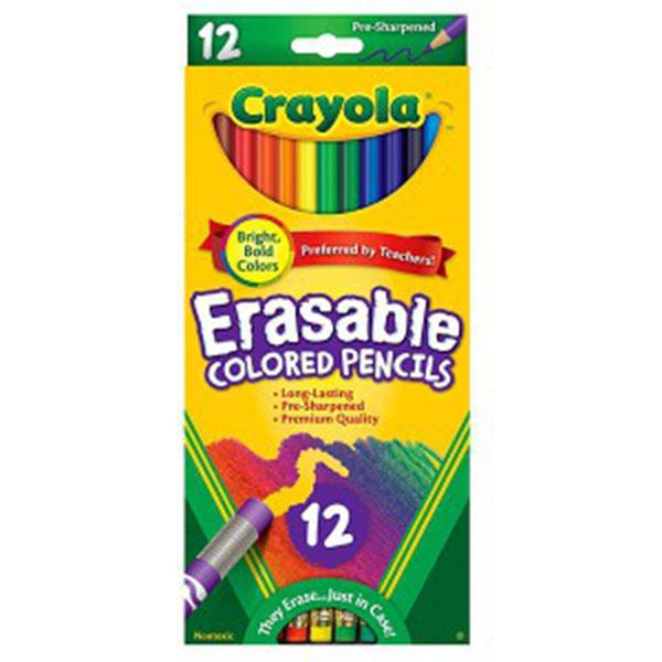 크레욜라 지워지는색연필12색(68-4412)