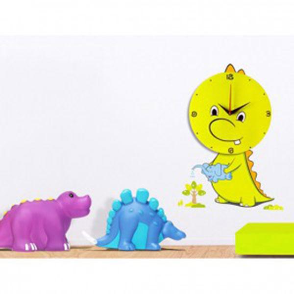 월엘프 데코시계(인테리어벽시계)-아기공룡