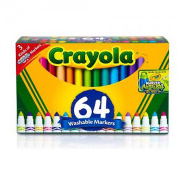 크레욜라 64색 수성마카셋 GY588180