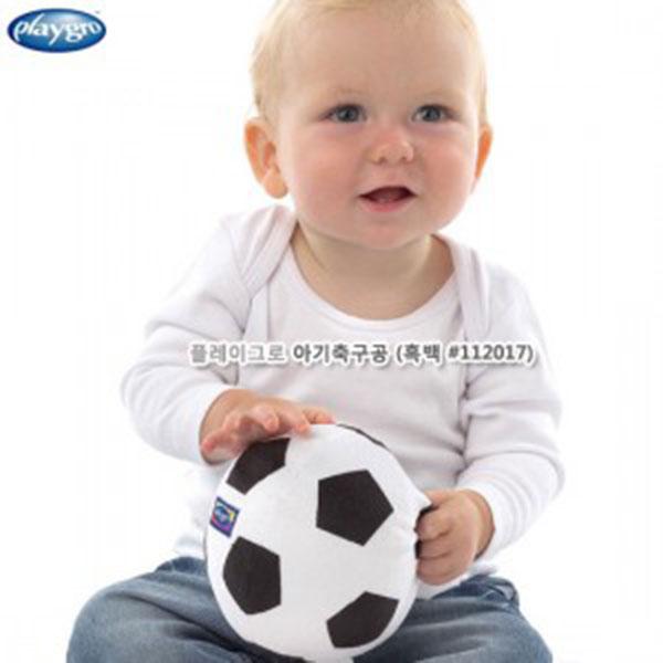 플레이그로 아기축구공 (흑백 #112017)