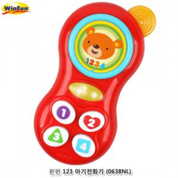 윈펀 123아기전화기 (0638NL)