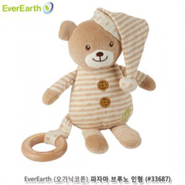에버어쓰 오가닉코튼 브루노(곰) 파자마인형 (#33687)