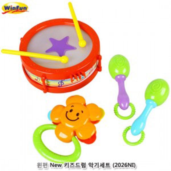 윈펀 New 키즈드럼 악기세트 (2026NI)