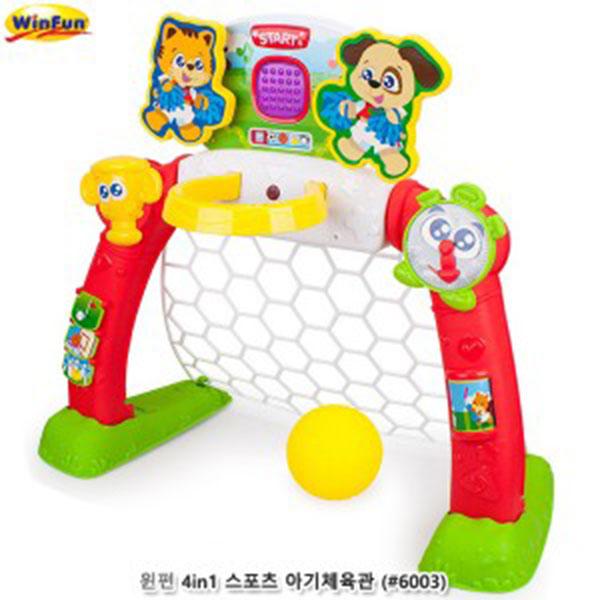 윈펀 4in1 스포츠 아기체육관 (#6003)