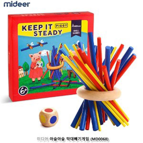 코체티 3D테크노 동물퍼즐 사자코끼리32P #734