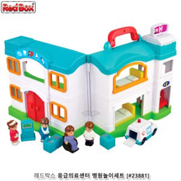 레드박스 응급의료센터 병원놀이세트 #23881