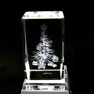 크리스마스 크리스탈 (램프 트리-M)