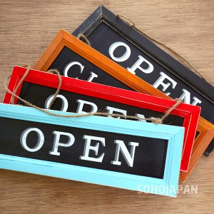 OPEN/CLOSE 사인보드