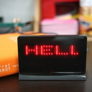 USB LED 메시지 보드