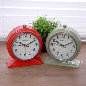 타원 탁상 시계