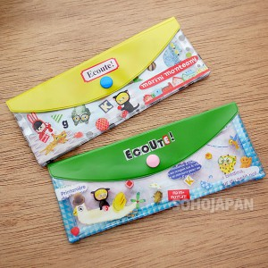 에꾸뜨 비닐 펜파우치(납작)