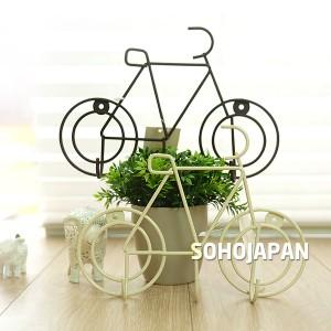 와이어 자전거 벽걸이