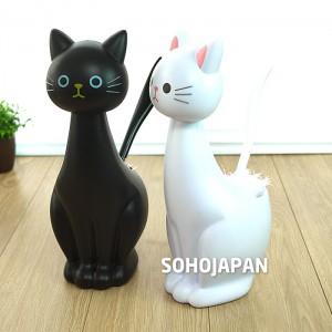 고양이 청소솔(천)