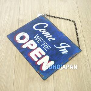 빈티지 사인보드(오픈클로즈)