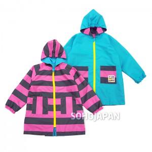 스트라이프 아동 비옷(리버서블)