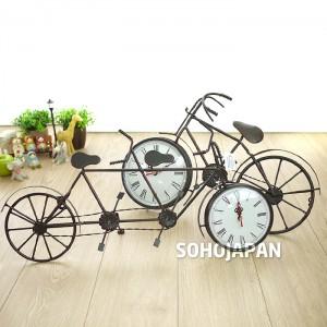 철재 자전거 시계(벽걸이)