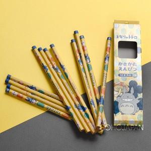 토토로 연필세트(2B_스탠실풍)
