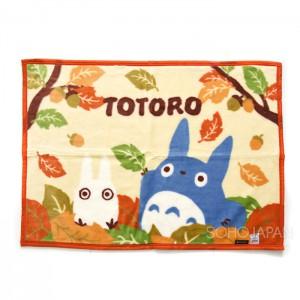 토토로 밍크 담요 낙엽 70X100