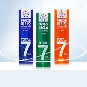 페리오 토탈7 120g 치약 20개 3종류 택1