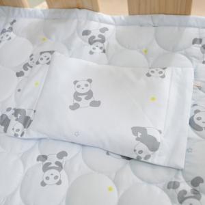 베이비스토리 좁쌀베개 팬더곰 엠블루