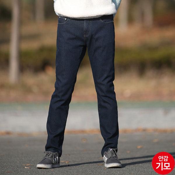 AMM927-2 남자진청겨울본딩청바지