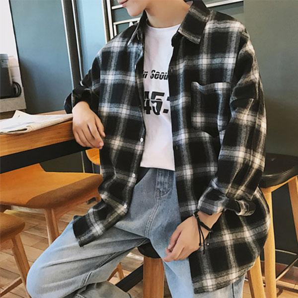 KAA CS05 남자그라데이션남방셔츠