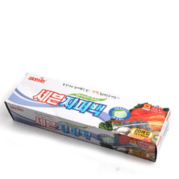 크린손 세븐지퍼팩-대20매25cm*30cm 지퍼팩