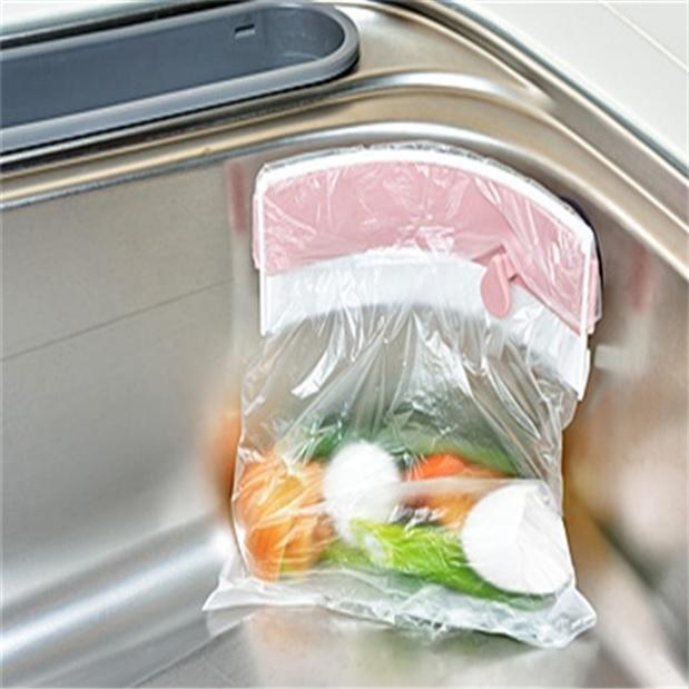싱크대 음식물 쓰레기통 홀더