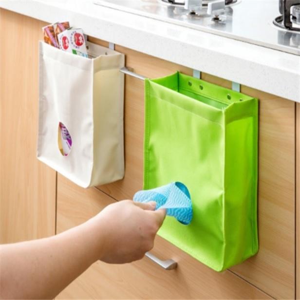 걸이형 비닐봉투 정리함