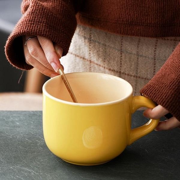시리얼 대용량 머그컵 스프컵