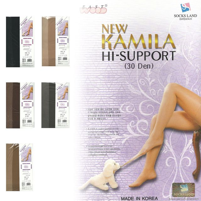 국산 카밀라 빅사이즈 30D 팬티스타킹 XL 2XL