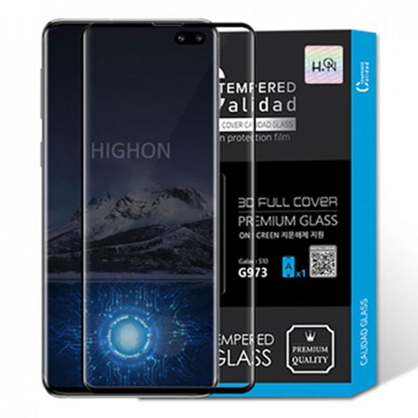아이폰 XR 하이온 New 3D 풀커버 칼리다드 프리미엄 강화유리 IPHONE XR(6.1)