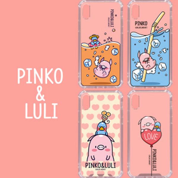LG Q51 핑코앤루리 캐릭터 케이스 LM-Q510N