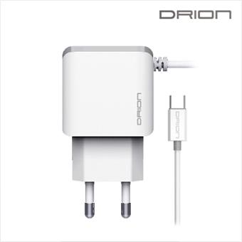 드리온 QC3.0 C타입 일체형 급속  가정용 충전기 9V 2A