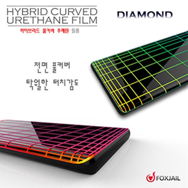 갤럭시 S21 다이아몬드 우레탄 필름 2매 SM-G991