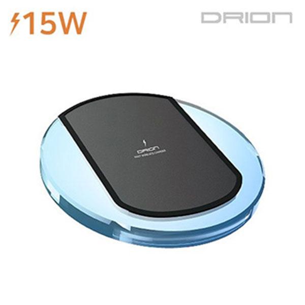 드리온 15W 고속 LED 무선 충전기 DR-15W-QWCP1