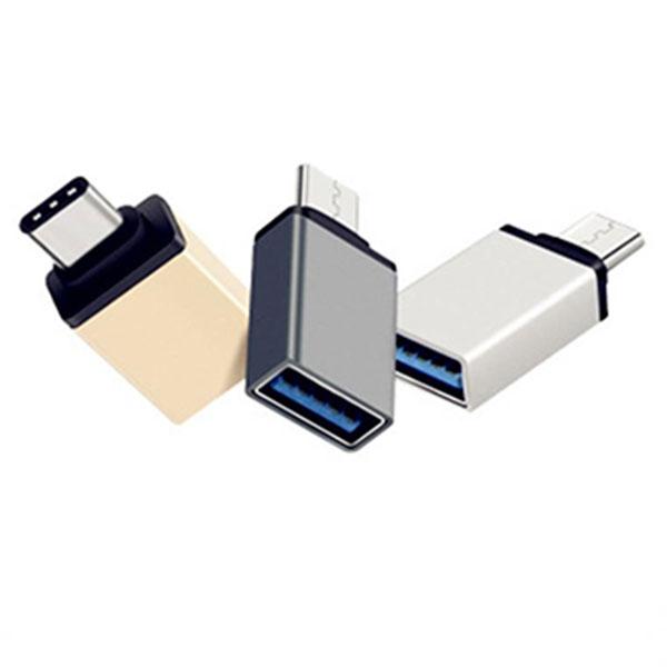 USB 5핀 to USB-A 변환 메탈 젠더
