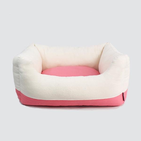 아델라 투 터치 사각베드 핑크