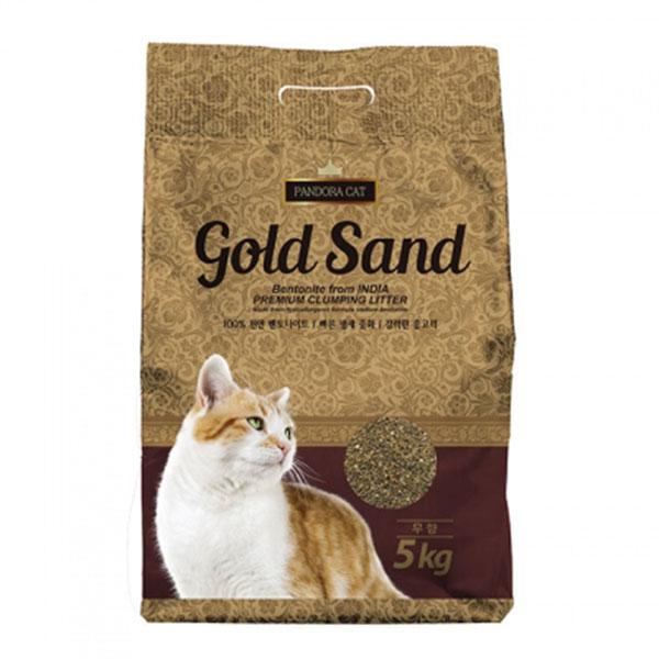판도라 골드샌드 벤토나이트 모래 무향 5kg