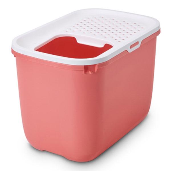 사빅 홉인 탑엔트리 화장실 핑크