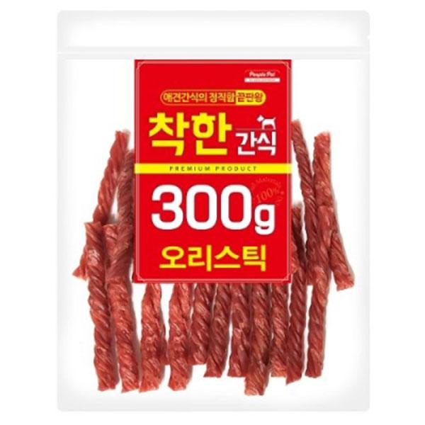 착한간식 오리스틱 300g