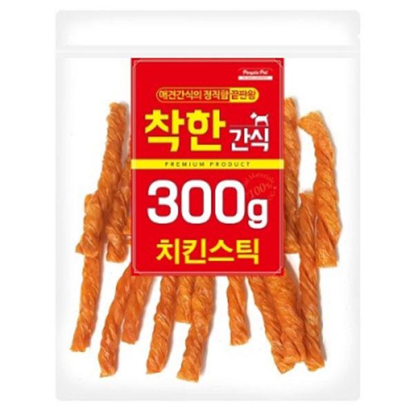 착한간식 치킨스틱 300g