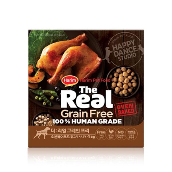 하림 더리얼 그레인프리 오븐베이크드 닭고기 시니어 1kg