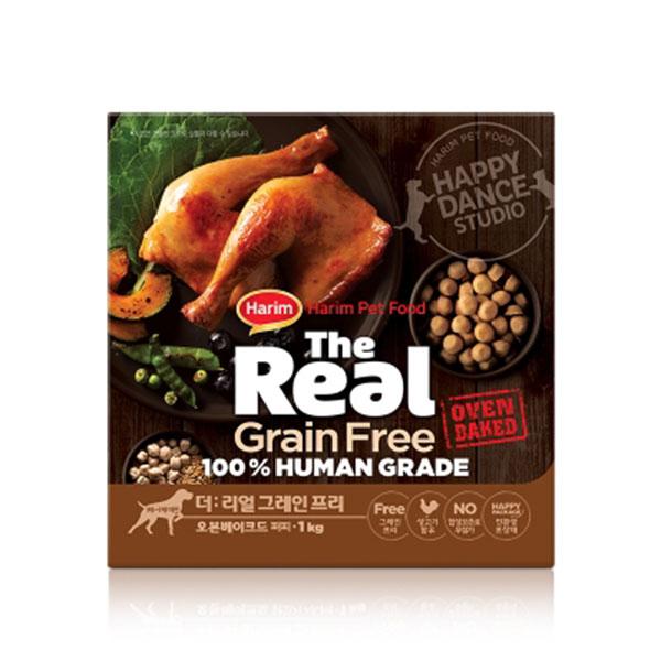 하림 더리얼 그레인프리 오븐베이크드 닭고기 퍼피 1kg