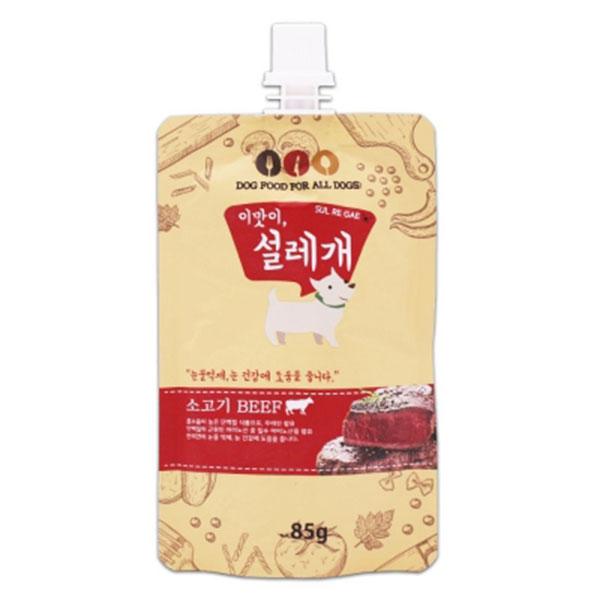 이맛이,설레개 소고기 눈건강 도움 85g