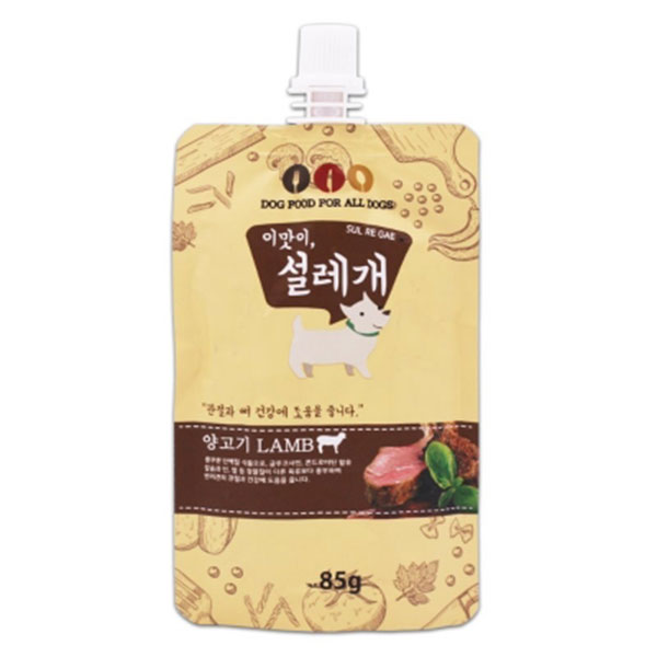 이맛이,설레개 양고기 관절 건강에 도움 85g