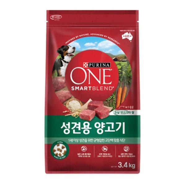 퓨리나 원 성견용 양고기 3.4kg