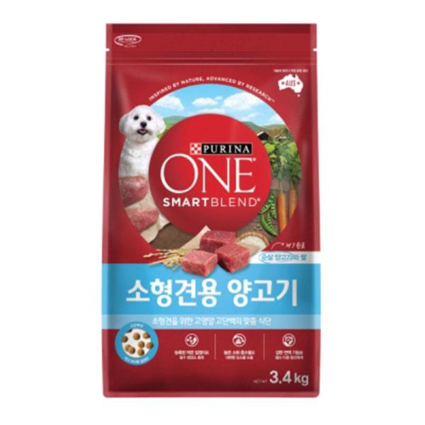 퓨리나 원 소형견 양고기 3.4kg