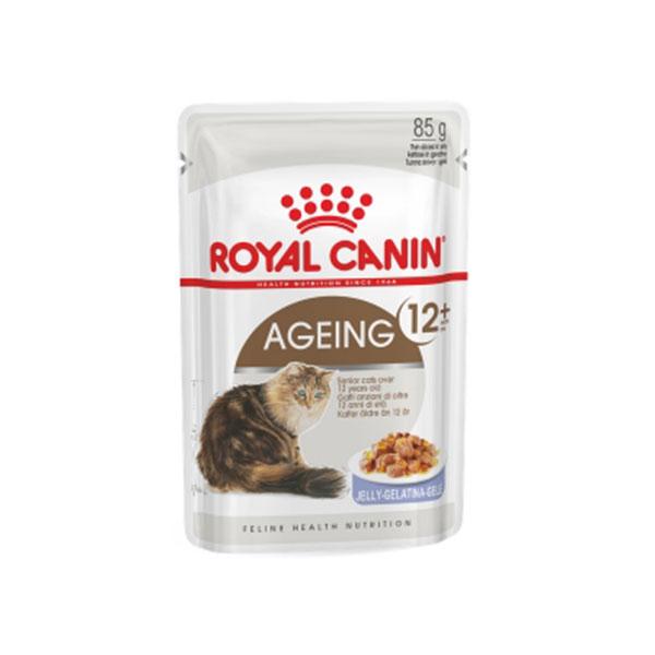 로얄캐닌 에이징 12+ 젤리 파우치 85g